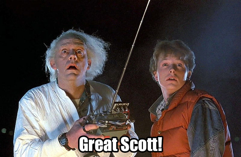 Back to the Future - Great Scott